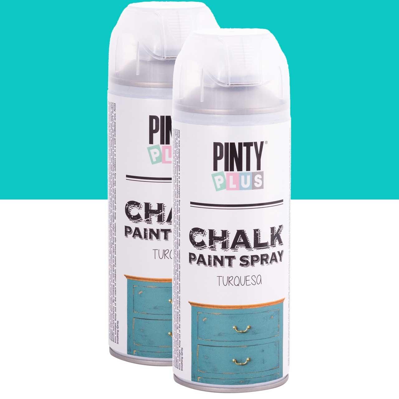 CHALK FINISH SPRAY PAINT, PINTYPLUS, 400 ml, Assorted Colors-Sizes ...