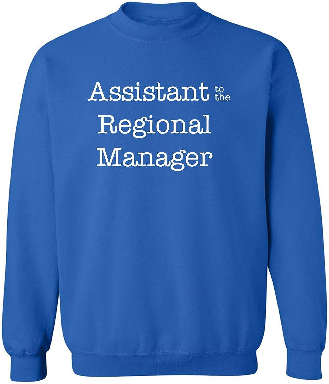 zerogravitee Assistant to The Regional Manager Crewneck Sweatshirt