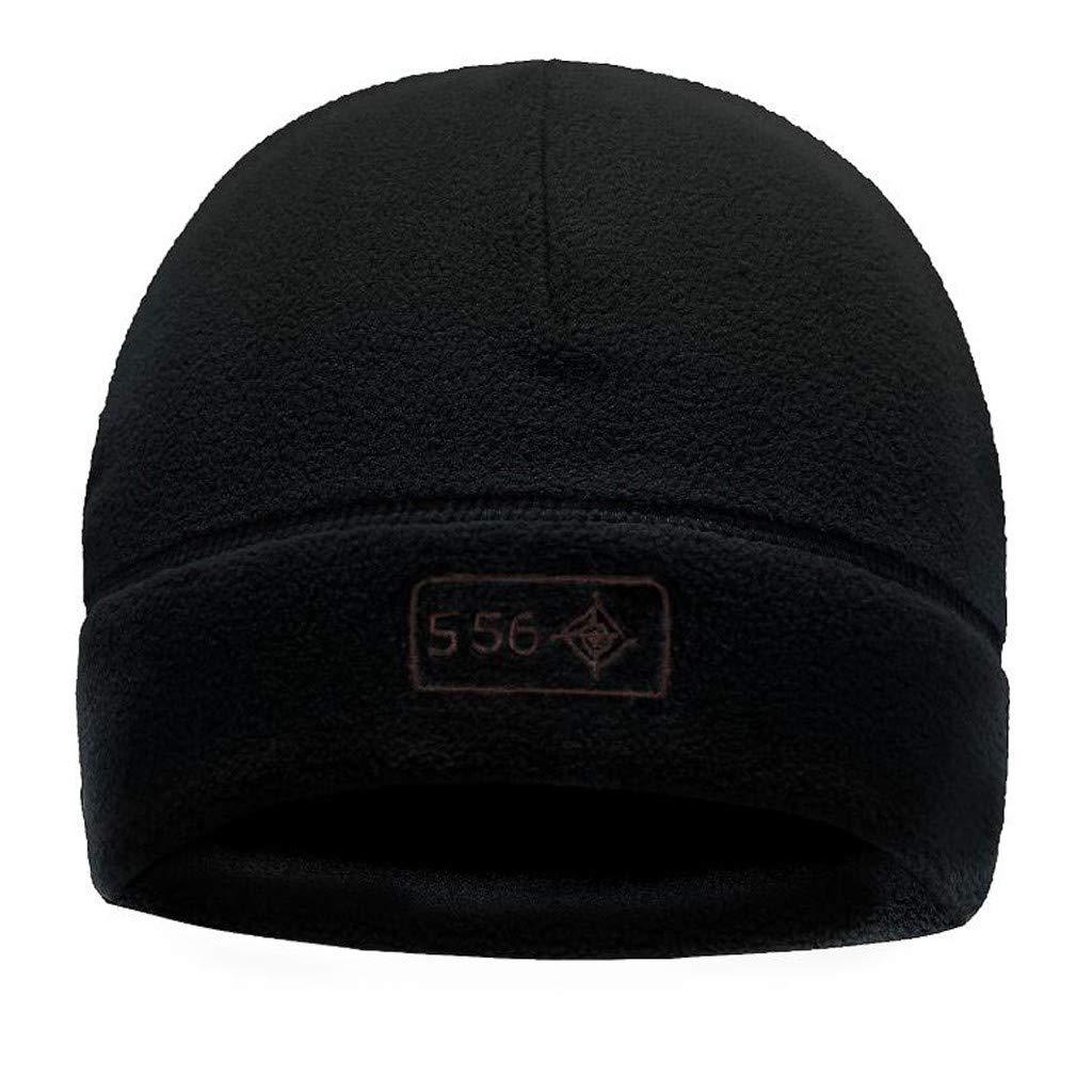 Trisee Gorros de Punto para Hombre Alpinismo para Hombres Sombrero de Punto de Invierno C/álido de Lana de Color Liso