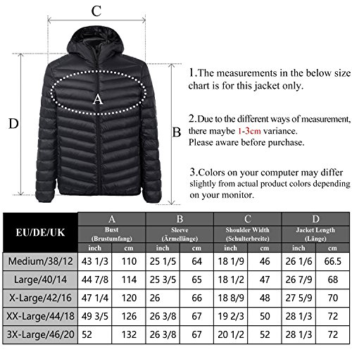 Ultra Ligero Chaqueta Chick 2017 Packable Mujeres Gray de de Version Plumón Cherry Las E14aAcqqz