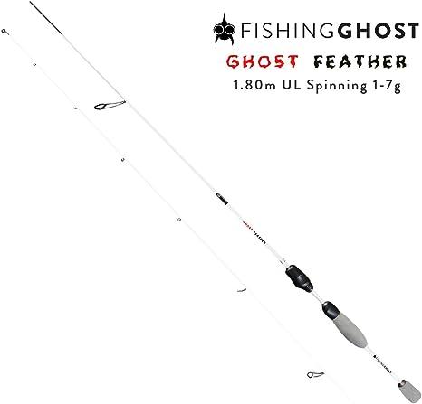 FISHINGGHOST Caña de Pescar - Caña de Spinning - Caña - Hechtrute ...