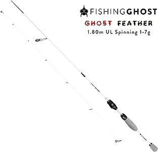 FISHINGGHOST Caña de Pescar - Caña de Spinning - Caña - Hechtrute - Transmisión de Potencia Directa Al Pescar Trucha, Char, Perca, lucioperca, Bacalao, Trucha de Lago, salmón: Amazon.es: Deportes y aire libre