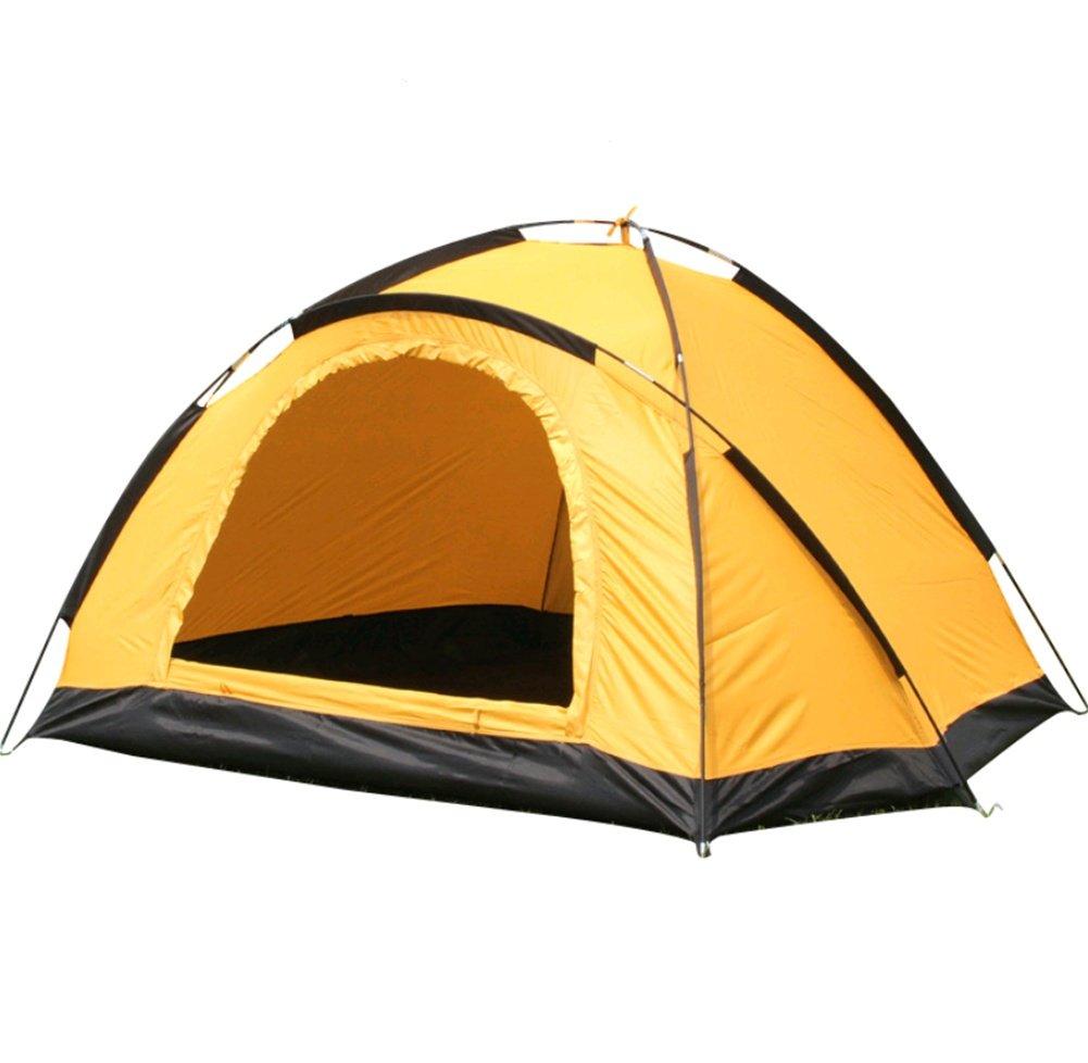 ZHANGP Outdoor-Zubehör Camping Zelt Single Double Single Layer regendicht manuelle Zelt