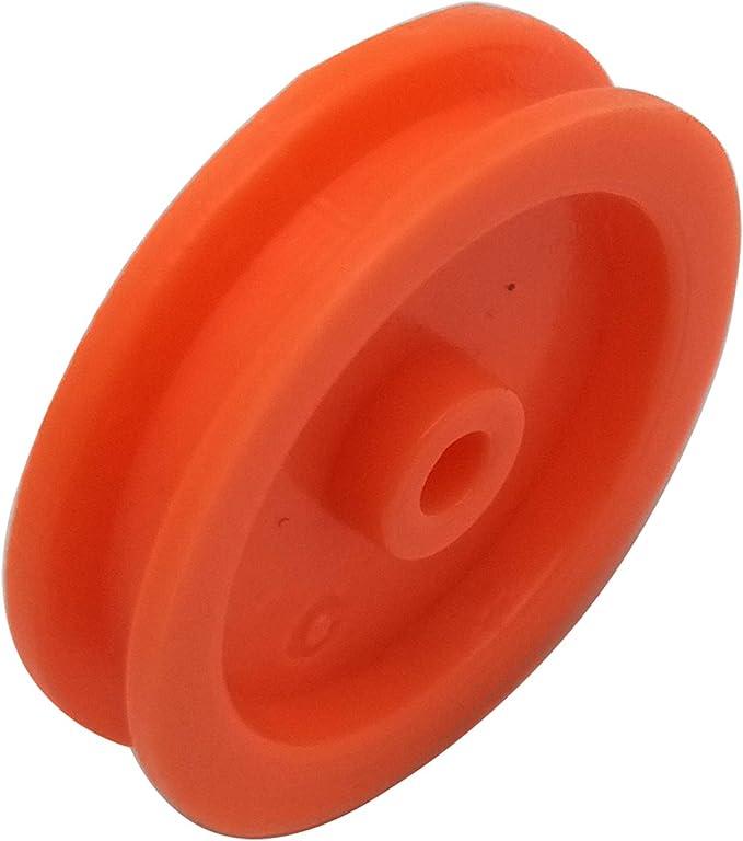 20PCS Micro Mini Plastic Pulley Wheel 2*6mm for Motor Shaft 2mm DIY Toy Model