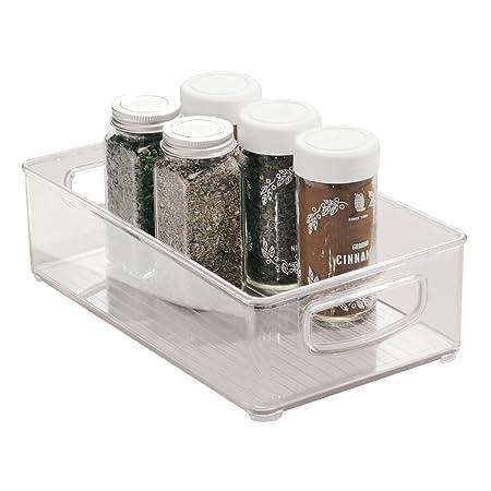 InterDesign Cabinet/Kitchen Binz Kitchen Storage Container, Small Plastic  Storage Boxes For The Fridge