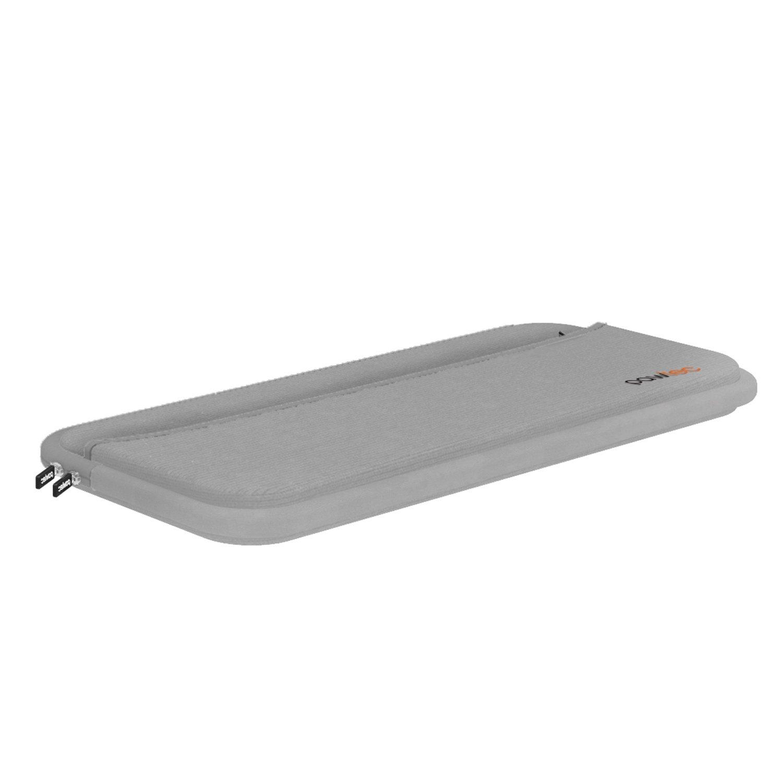 Funda Pawtec para Apple Magic Keyboard, Magic Mouse 2, Magic Trackpad 2 con bolsillo de almacenamiento para baterías Cables cargadores funda de ...
