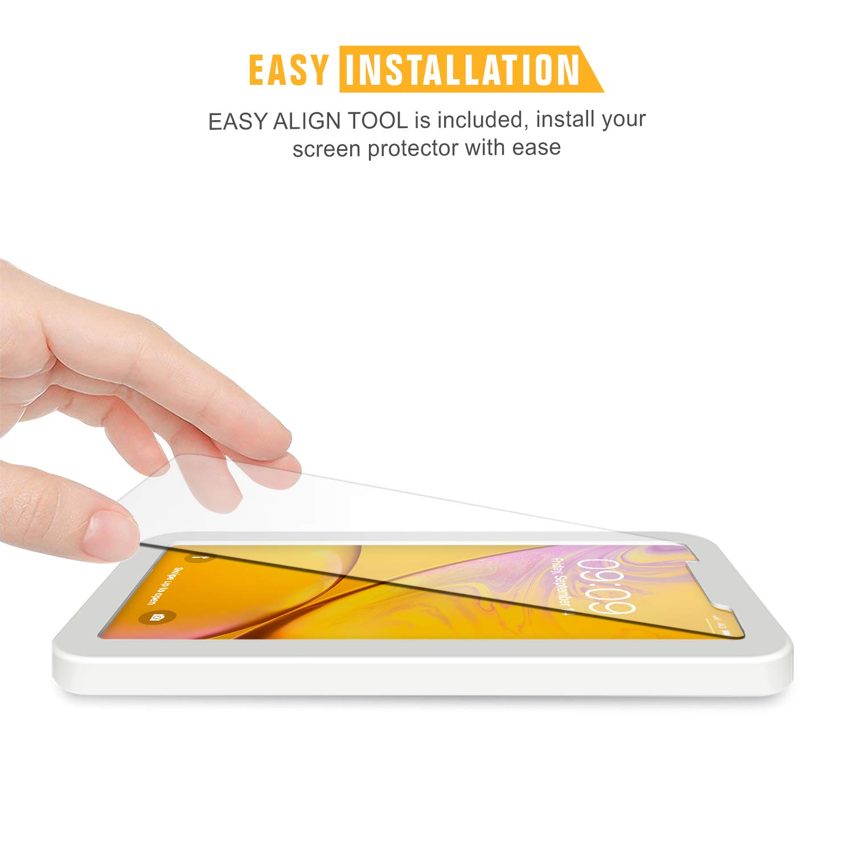 [3-Pack] Cristal Templado iPhone XR, Protector Pantalla iPhone XR Vidrio Templado con [2.5d Borde Redondo] [9H Dureza] [Alta Definicion] para iPhone XR: ...