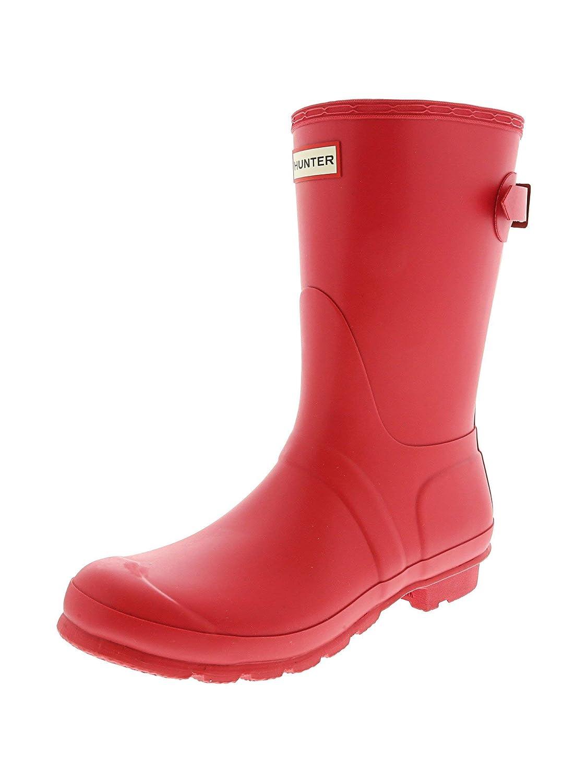 Flare Hunter Boots Women's Original Back Adjustable Short Rain Boot