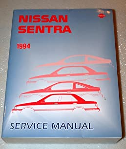1994 nissan sentra service manual amazon com books rh amazon com Nissan Sentra Repair Guide Nissan Sentra Repair Guide