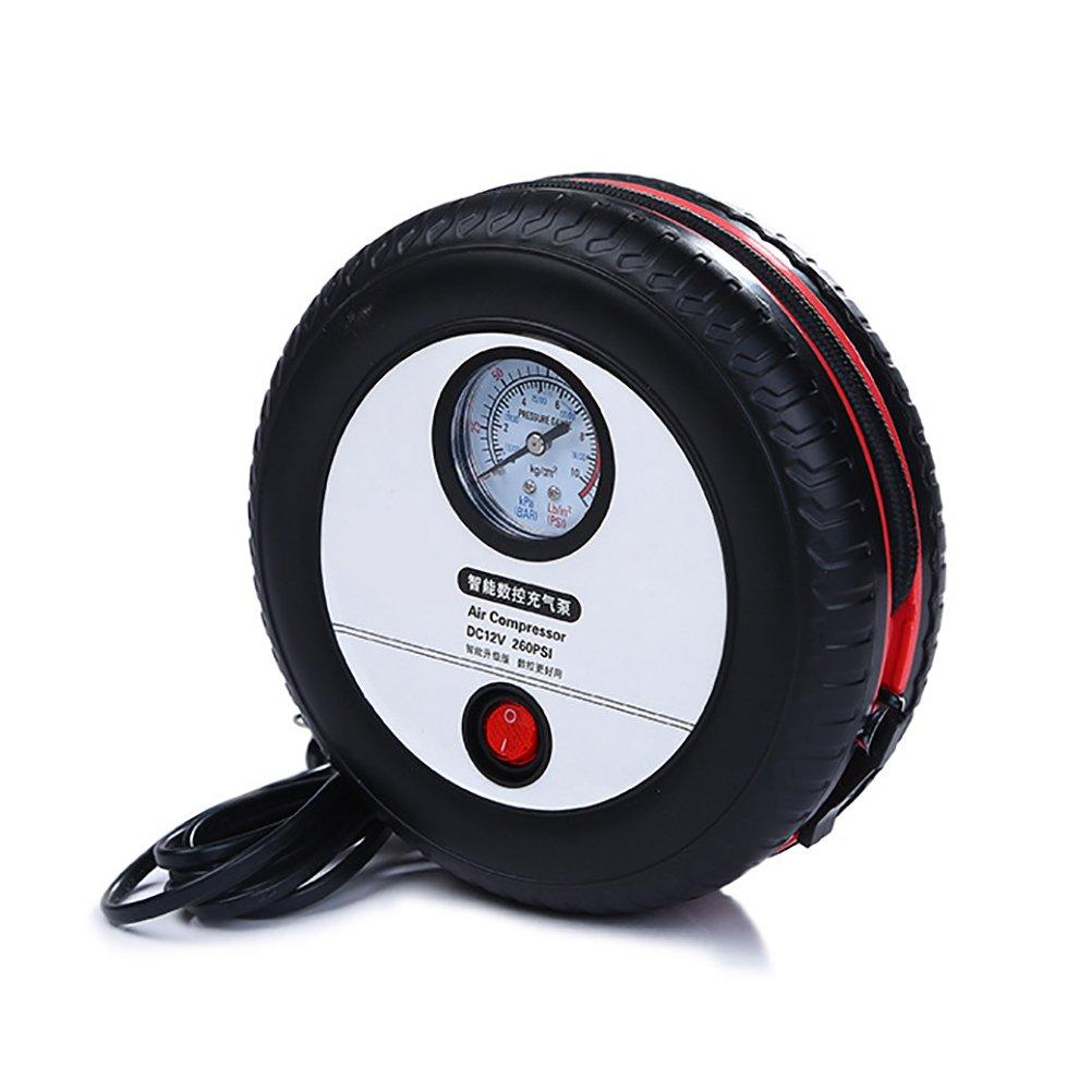 Pumpen, Teile Und Zubehör Heimwerker 12 V Digitale Tragbare Auto Fahrrad Reifen Inflator Pumpe Luft Kompressor 260psi Für Auto Ball Bike Air Boot Hohe Qualität