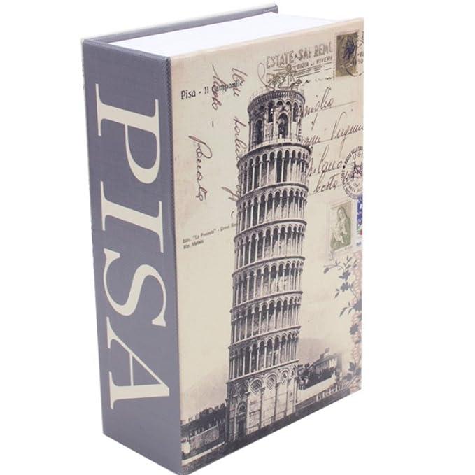 4 opinioni per Cassetta portavalori cammuffato libri Camouflage sicurezza nascosto come libro