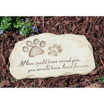 If Love Could Have Saved You Pet Memorial Stone from Gold Crest Distributing LLC