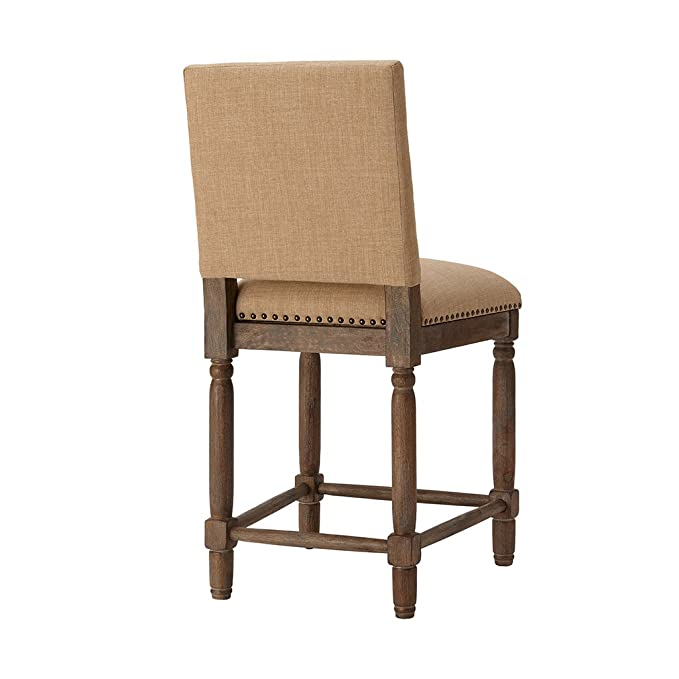Amazon.com: Madison Park Cirque Counter Stool Sand See Below ...