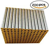 MICM magnet 3x1mm 200pcs Round Magnets for