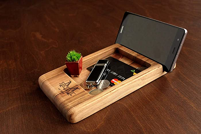 Christmas Gift Ideas For Him Amazon.Amazon Com Wooden Desk Organizer Father S Day Gift