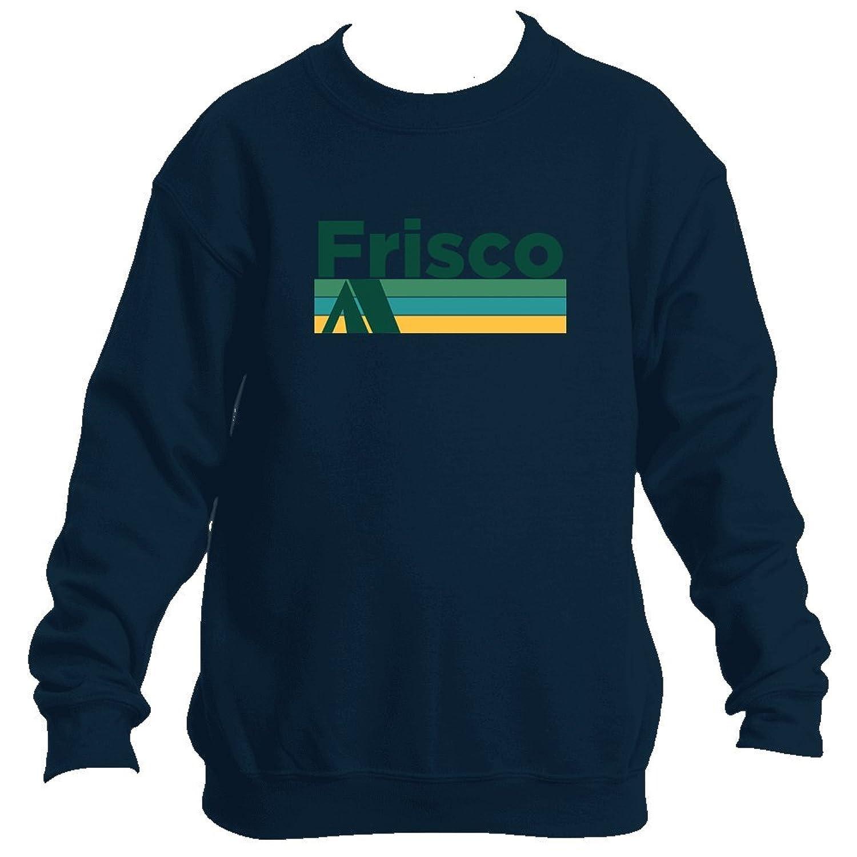 Frisco Retro Camping - Colorado Youth Fleece Crew Sweatshirt - Unisex