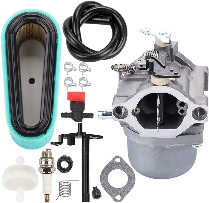 Venseri 799728 Carburetor with 496894 Air Filter for Briggs Stratton 498027 498231 499161 494502 494392 495706 496592 498231 Carb