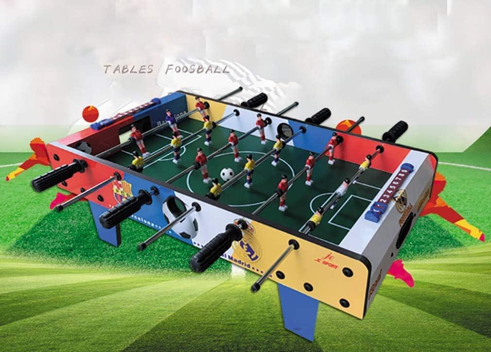 RUIXFFT Futbolín de Mesa Juego Mesa de Fútbol Madera para ...