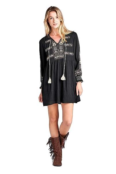 Velzera Women\'s Mardi Gras Embroidered Mini Dress Plus Size ...