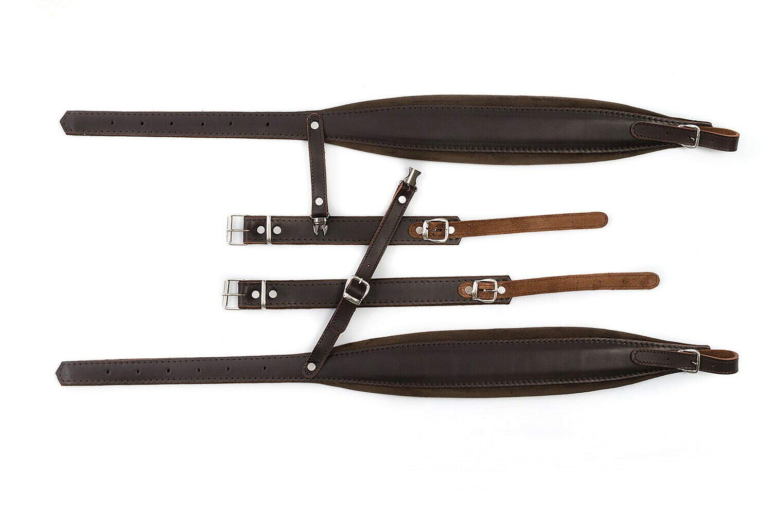 New Genuine Leather Quality Shoulder Straps 120,140 Bass Accordion Belts Correas by Used musical instruments