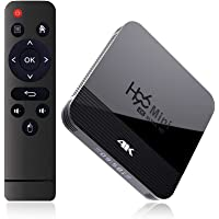 Sausiry H96 Mini Android 9.0 TV Box 2G 16G Dual Band WIFI 2.4G&5G 4K Bluetooth 4.0 Set Top Box USB 3.0 Support 3D Movie…