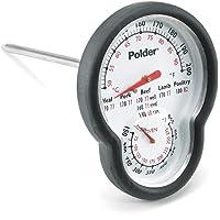 Polder – 12453 Acero Inoxidable Dual Termómetro para horno