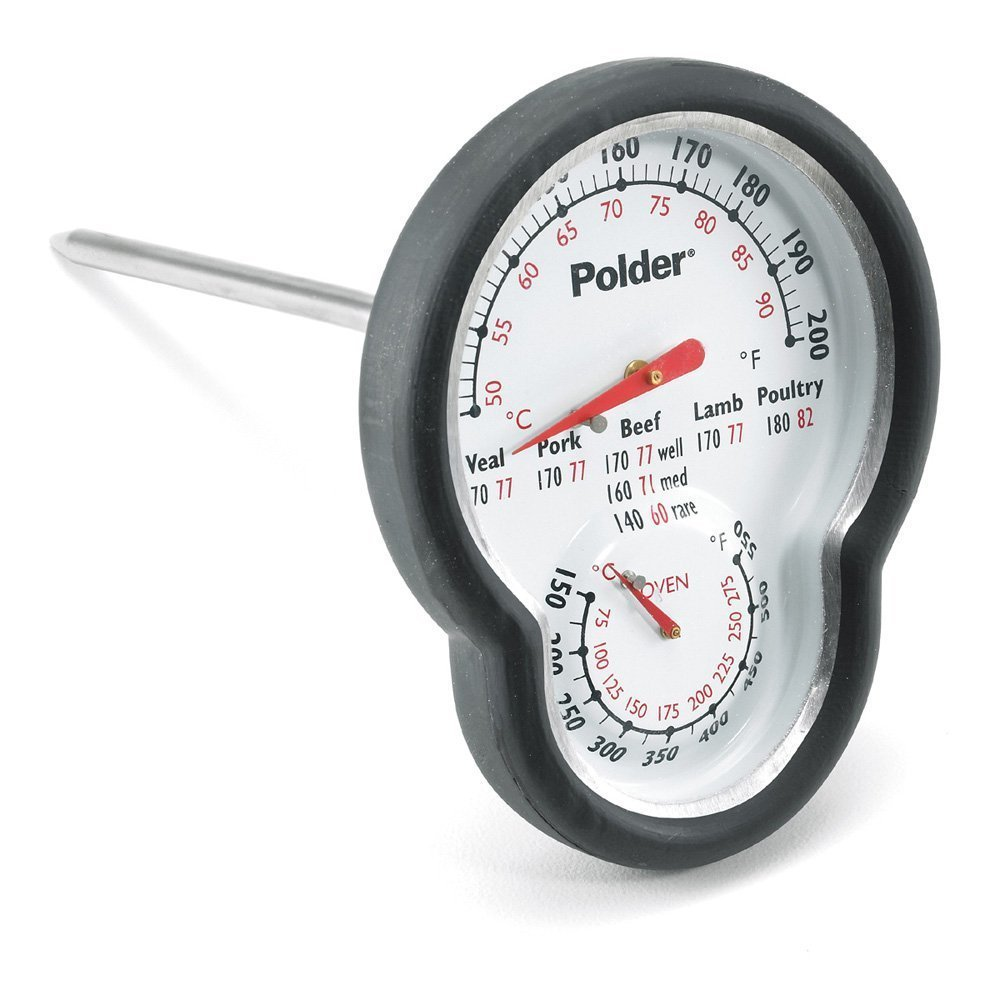 Dual Oven Meat Thermometer by Polder