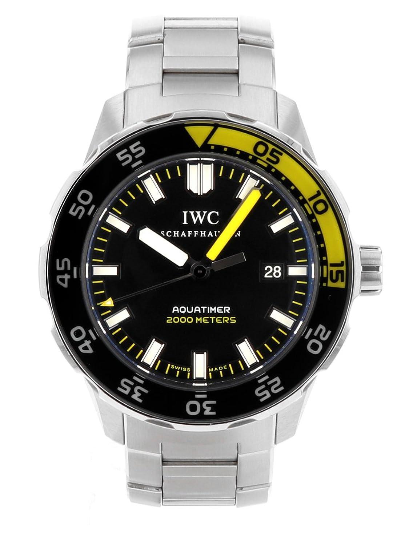 [アイダブリューシー] IWC 腕時計 IW356801 アクアタイマー オートマティック2000 ブラック文字盤 SSブレス [中古品] [並行輸入品] B07BR5Q1Y2