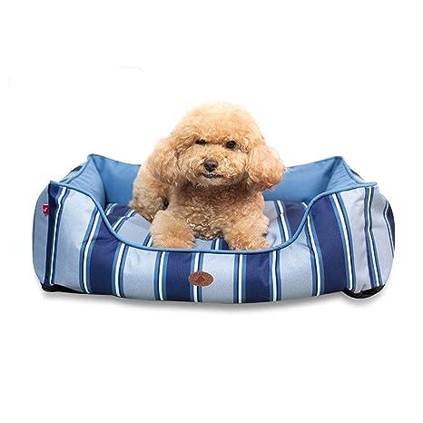 PLDDY Espuma de Memoria Grande y Lavable para Cama de Perro para Mascotas, Cubierta de