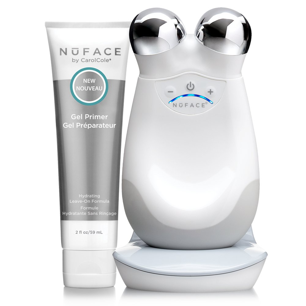 NuFACE Advanced Facial Toning Kit (Trinity Facial Device + Hydrating Leave-On Gel Primer). Best beauty gadgets and devices to buy as gifts for beauty lovers. Best beauty gift guide for makeup and skincare gurus