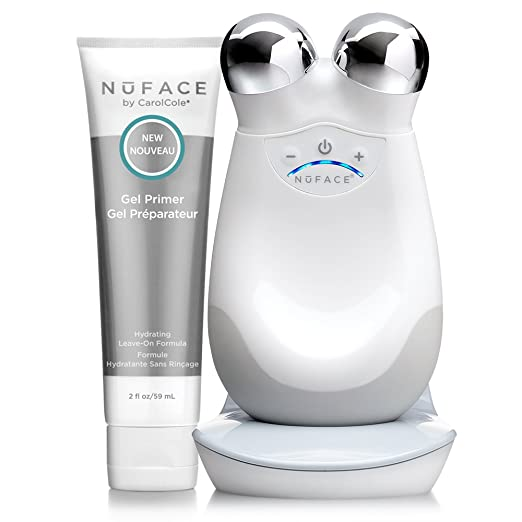 Amazon.com: NuFACE Advanced Facial Toning Kit, Trinity Facial Trainer Device + Hydrating Leave-On Gel Primer, Skin Care Device to Lift Contour Tone Skin + Reduce Look of Wrinkles, At-Home System: Premium Beauty
