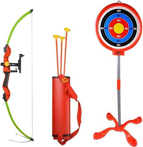 Durable Plastic Children Toys Bow and Sucker Arrow Set Archery For Boy