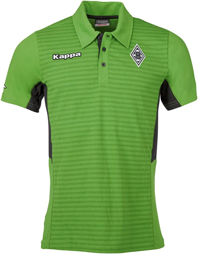 Kappa Hombre Borussia Mönchengladbach Polo Polo Camiseta, Hombre ...