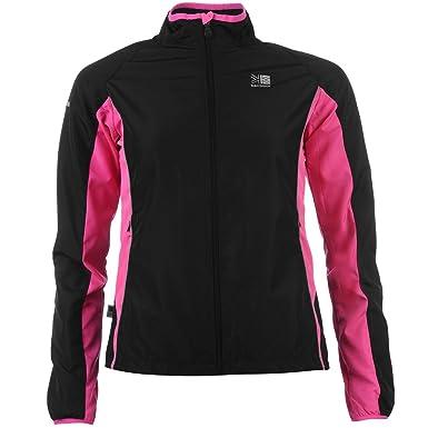 5f11a391b Karrimor Womens Ladies Running Jacket Long Sleeve Zip Fastening Coat Top
