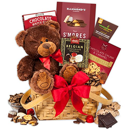 Teddy-Bear-Chocolates-Gift-Basket