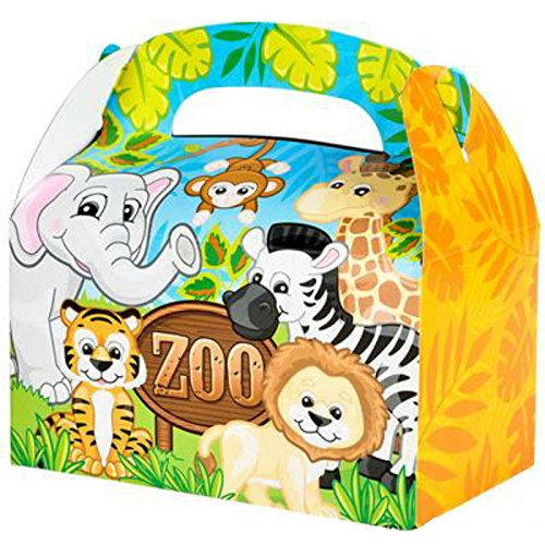 - Party Favor Zoo Treat Boxes (Pack of 12) - Play Kreative TM (Zoo)