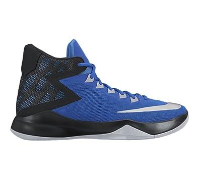 ed722f987bbd NIKE New Men s Zoom Devosion Basketball Shoe Royal Black 8.5