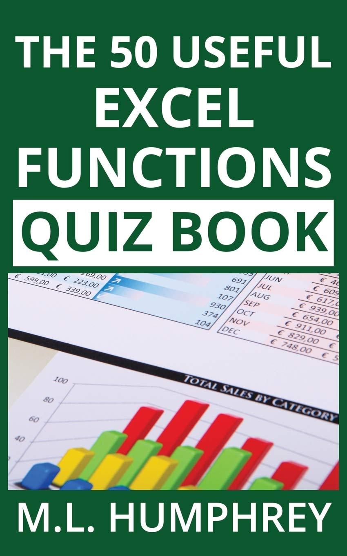 The 20 Useful Excel Functions Quiz Book 20 Excel Essentials Quiz ...