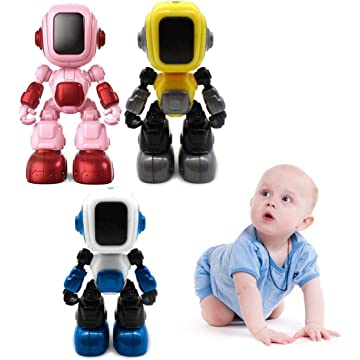 lantusi Kids Children Robot Toy Recording Musical Birthday Xmas Gift Toy Figures
