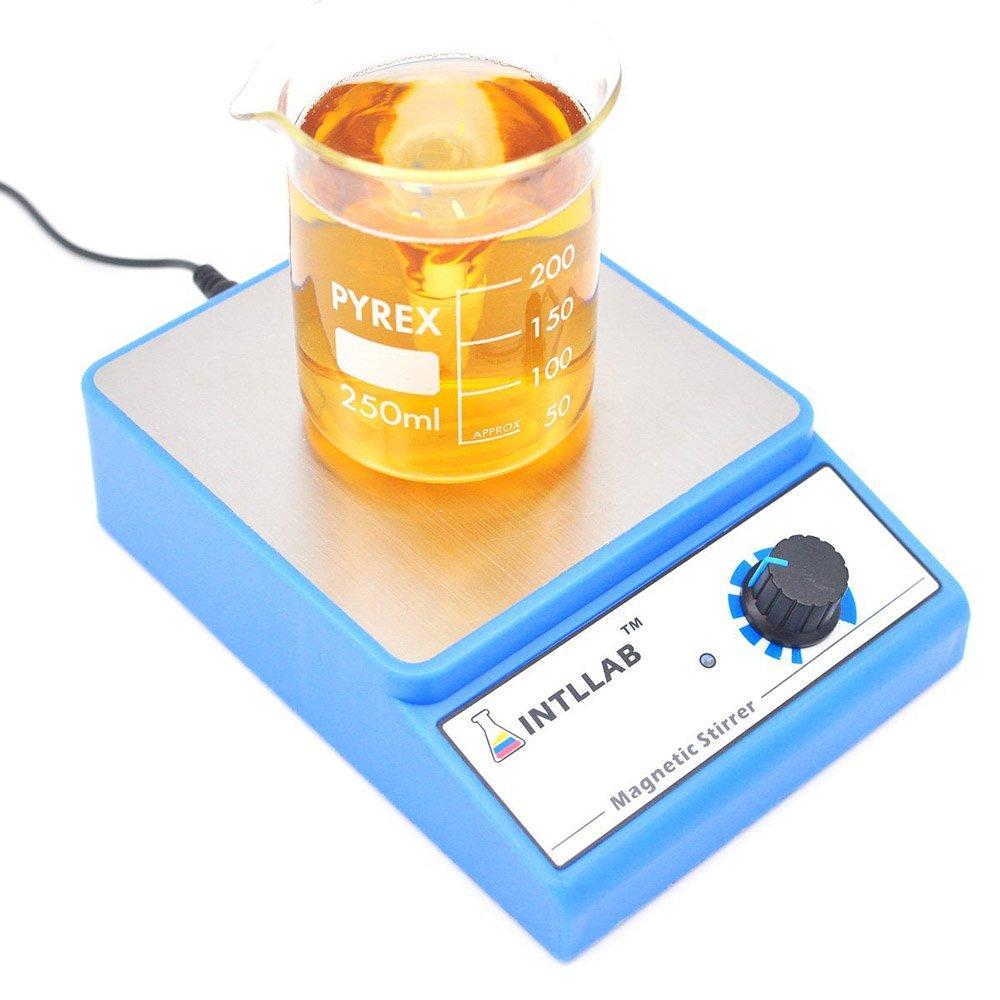 PING 220V Chemical Laboratory Magnetic Stirrer Mixer 1000ML Stirring Blender Machine 0-2500r//min Mini Shaker Speed