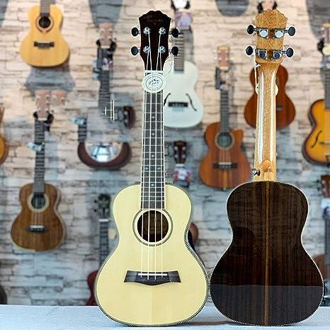 LMYG Ukelele, 23 Pulgadas, Guitarra De Ukelele De Palisandro De Un ...