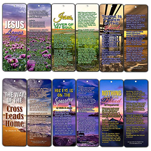 Ministry Halloween Lyrics (Hymn Bible Bookmarks Series 3 - Jesus Loves Me (30-Pack) - Great Collection of Hymns Perfect for Gift Giving, Outreach,)