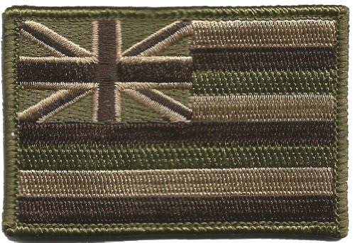 Tactical State Patch - Hawaii - Multitan