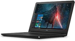 "2018 Dell Business Flagship Laptop Notebook 15.6"" HD LED-Backlit Display Intel i5-7200U Processor 8GB DDR4 RAM 256GB SSD DVD-RW HDMI Webcam Bluetooth Windows 10 Pro-Black (Certified Refurbished)"