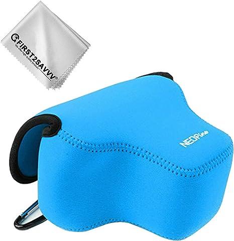 Azul Funda Cámara Reflex Neopreno Protectora para Fujifilm X-T3 ...