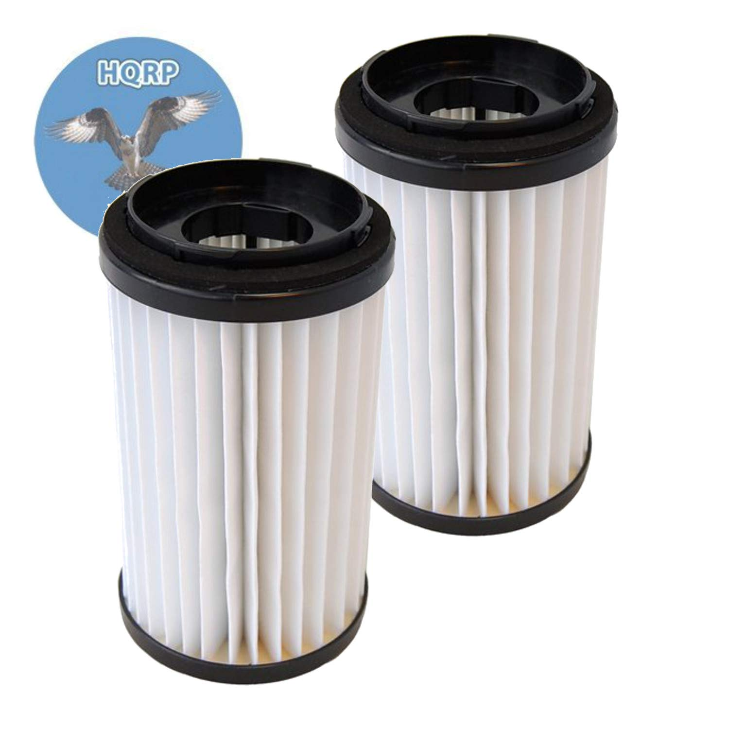 HQRP 2-Pack Washable HEPA Filters Compatible with Sears/Kenmore/Panasonic 82720, 82912, 20-82912, 20-82720, 0208272000, 02082720000 Replacement Coaster