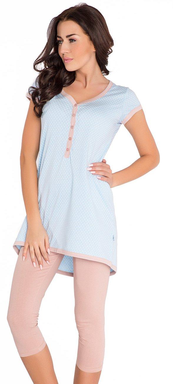 2 en 1 Maternité / allaitement 100% coton pyjama ? 2 pi?ces 5051