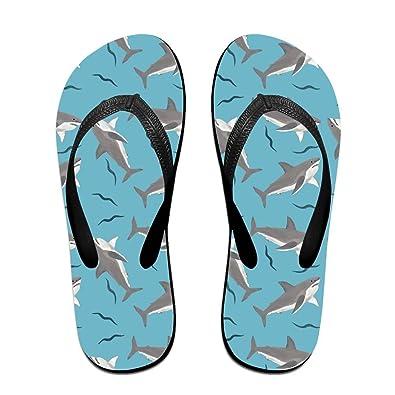 Unisex Non-slip Flip Flops Giraffe In Grass Cool Beach Slippers Sandal