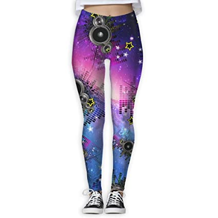 028d845ced Sound Activated Led Lover Women S Workout Running Gym Tights Leggings High  Waist Yoga Pants