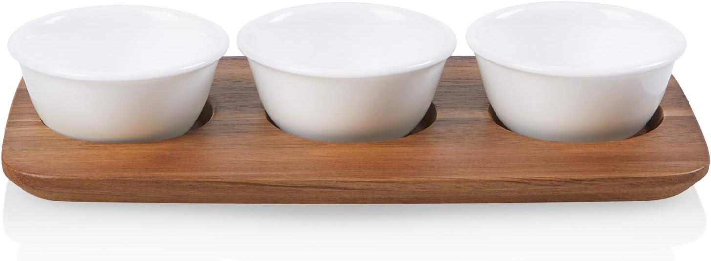Corelle Coordinates Small Dip Tray, White